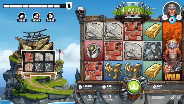 Ώρα για κατασκευές: Κυκλοφορεί ο κουλοχέρης Castle Builder II της Microgaming